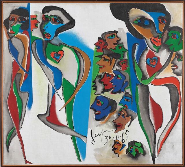 , 'Eles e Elas,' 1965, Museu de Arte Moderna (MAM Rio)