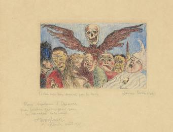 Péchés Capitaux dominés par la Mort, from: Les Sept Péchés Capitaux (The Deadly Sins dominated by Death, from: The Seven Deadly Sins)