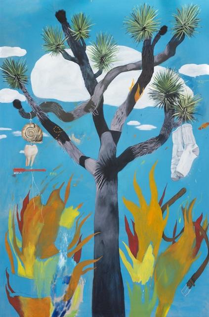 , 'The Burning Tree,' 2017, Galerie Sébastien Bertrand