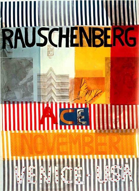 Robert Rauschenberg, 'Ace Gallery, Venice, California (lg)', 1977, ArtWise