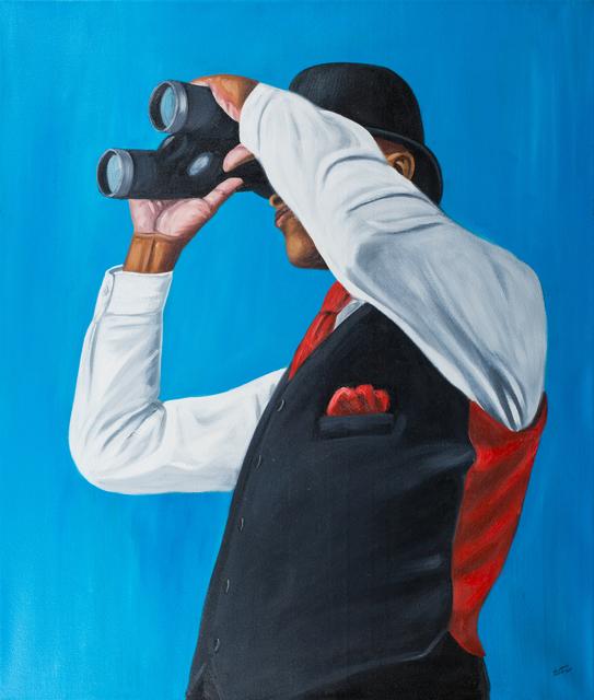 Zemba Musiri Lutanda Luzamba, 'L'homme prudent', 2017, Africa Bomoko