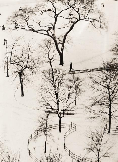 André Kertész, 'Washington Square Day', 1954, Bruce Silverstein Gallery