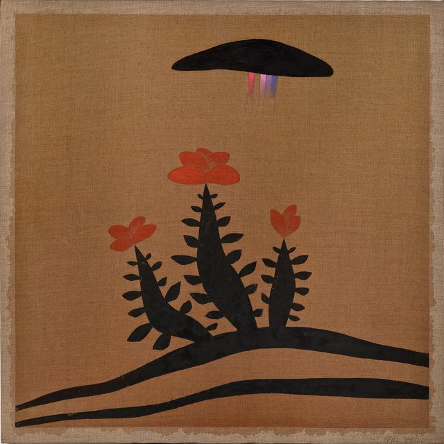 , 'Flowering Tree and Rainbow Cloud,' 1990, Gana Art