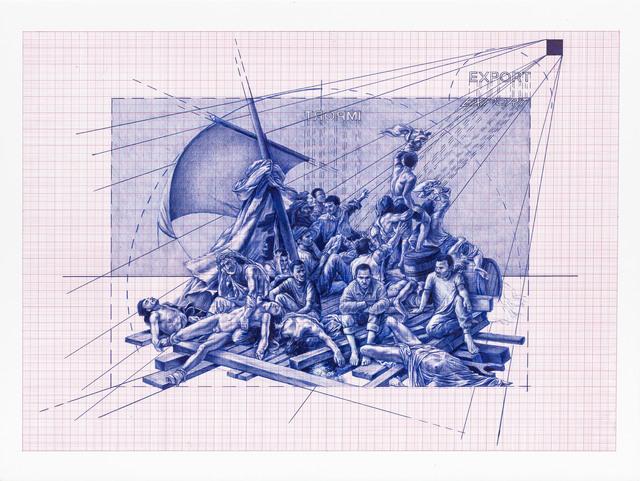 , 'Untitled – La zattera della Medusa,' 2016, MLF | MARIE-LAURE FLEISCH
