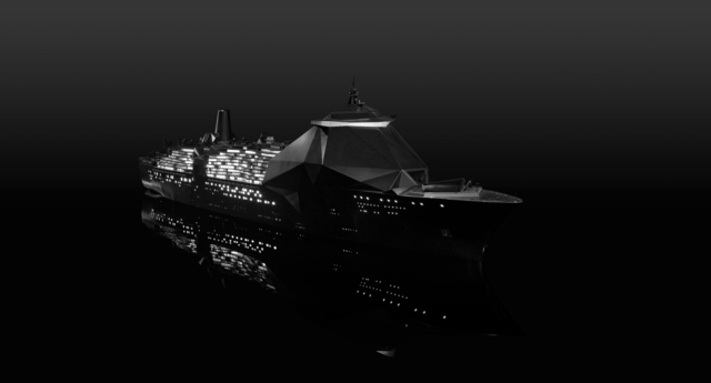 , 'Sea of Tranquillity (model),' 2010, GALLERIA CONTINUA
