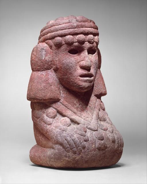 Unknown Aztec, 'Water Deity (Chalchiuhtlicue)', 15th–early 16th century, The Metropolitan Museum of Art