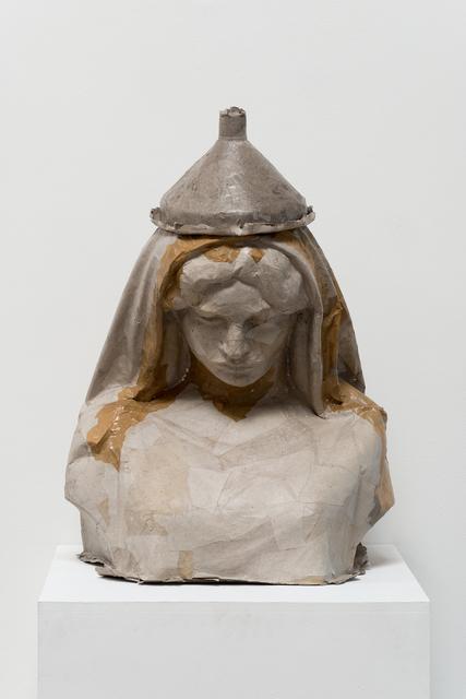 , 'The wife (paper cast of Aspasia,1973 by Mara Karetsou),' 2017, Klowden Mann