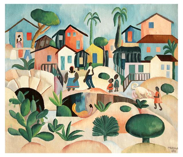 , 'Tapestry Tarsila do Amaral - Morro da Favela,' 2016, By Kamy