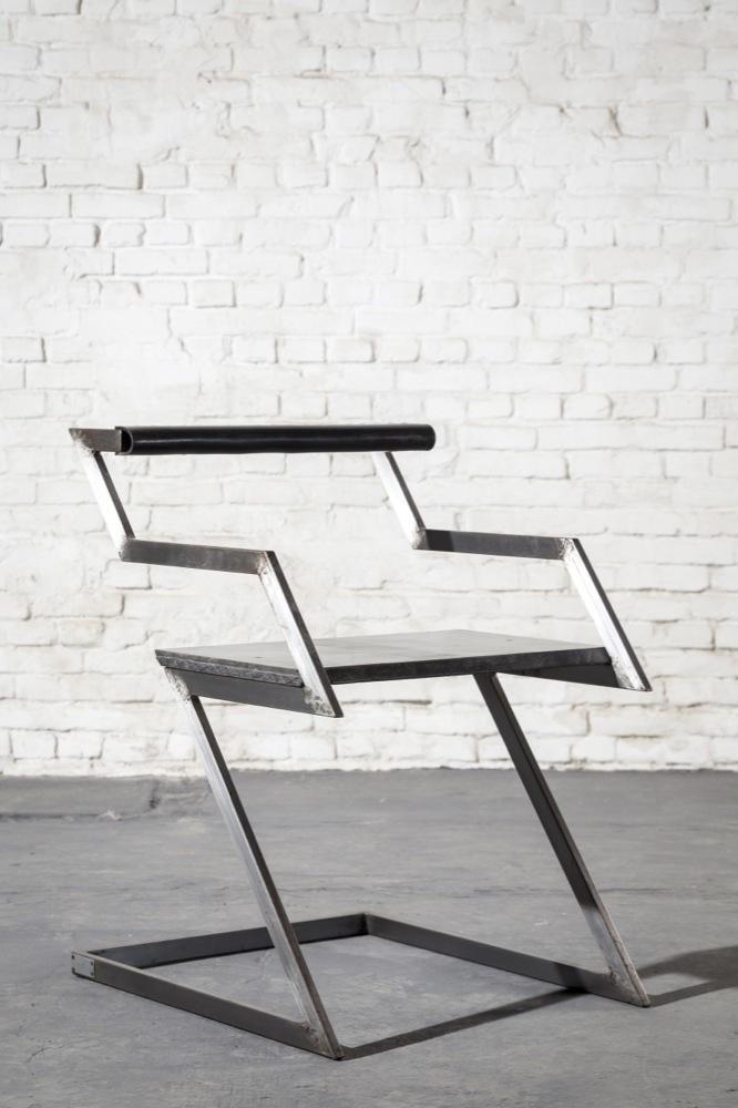 Gerard Kuijpers, 'Zig-Zag armchair,' ca. 1980, Galerie Yves Gastou