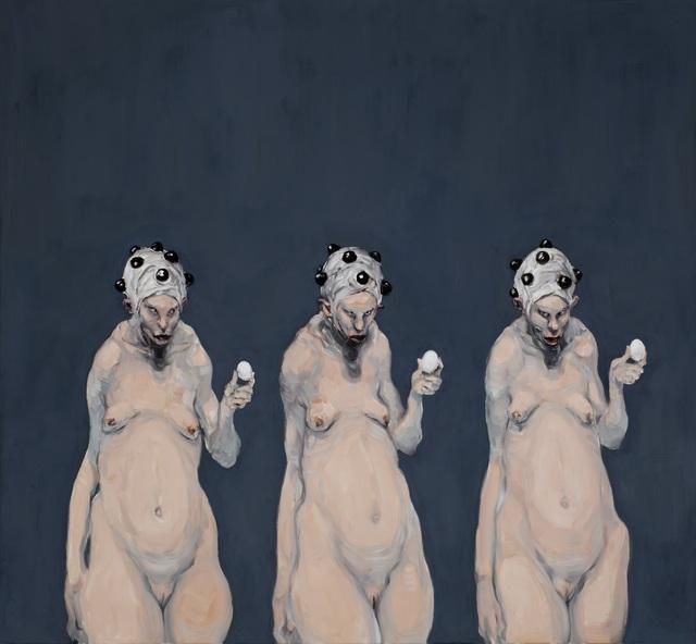 , 'Leviathans Lovers,' 2014, Galleri Brandstrup