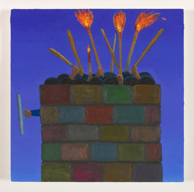 Vonn Sumner, 'Study of Betrayal Wall II', 2018, Morton Fine Art