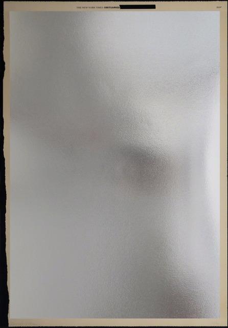 , 'Mirror,' 2016, Nikola Rukaj Gallery
