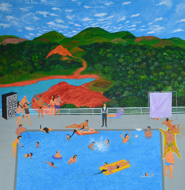 , 'Party in a Pool,' 2015, Gallery LVS