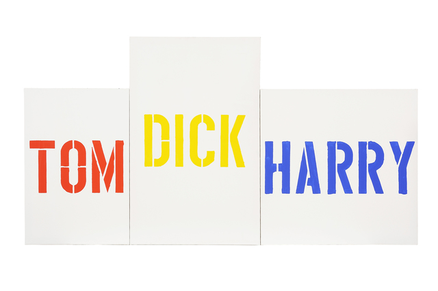 , 'Mayfair: 14, Tom, Dick & Harry,' 1993, Charles Nodrum Gallery