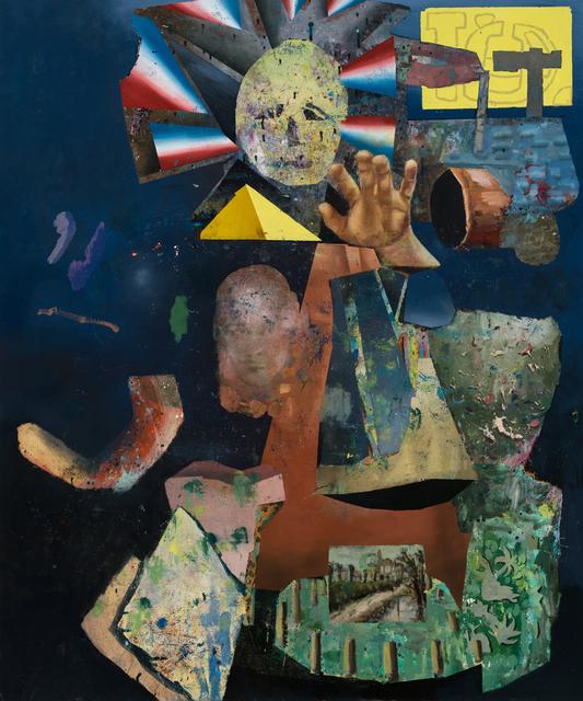 , 'En ordre d'apparition 05,' 2016, Galerie Hugues Charbonneau