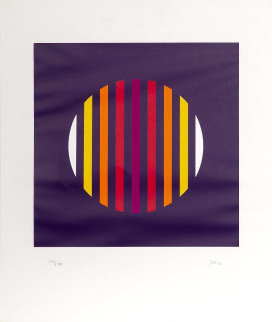 Jakob Bill, 'Purple Abstract', 1968, RoGallery