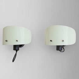 A pair of '216' wall lamps