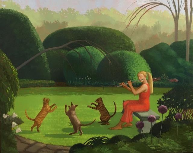 , 'Adagio for Three Cats,' 2014, Dog & Horse Fine Art