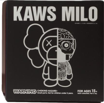 KAWS, 'Milo (Black)', 2011, Sculpture, Vinyl, Dope! Gallery