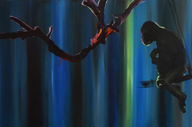 , 'Diptych, Preparing to Escape Part II,' 2015, Galerie Sandhofer