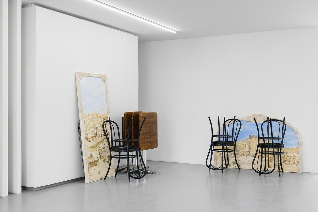 Exhibition view, Pier 1, by Michael Assiff.