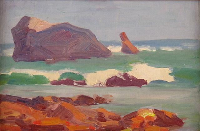Paul Turner Sargent, 'Rocky Coast', ca. 1920, Janus Galleries