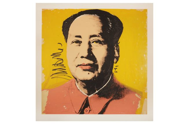 Andy Warhol, 'Portrait of Mao Yellow Edition', 1971, Print, Colour silkscreen on paper, Chiswick Auctions