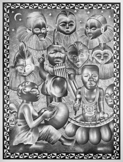 Tsham, 'L'orchestre', 2016, Africa Bomoko
