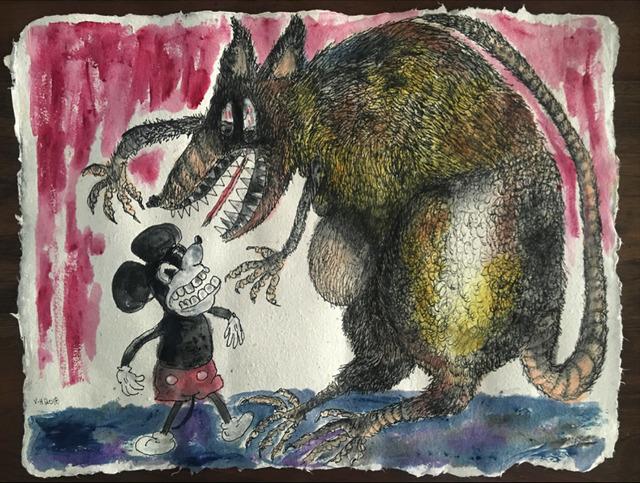 , 'Las Ratas,' 2018, NM Contemporáneo