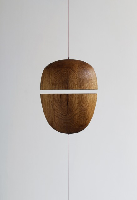 Eske Rex, 'Divided Self 06', 2014, Design/Decorative Art, Solid oak, leash, magnets, Galerie Maria Wettergren
