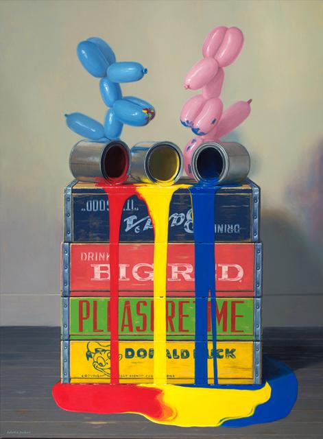 Robert C. Jackson, 'Primary Pour', 2016, Arden Gallery Ltd.