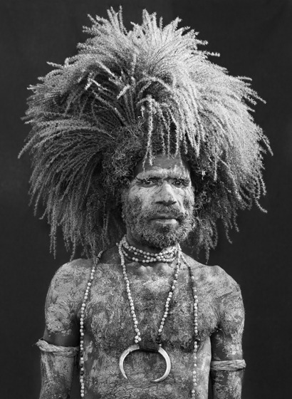 , 'Performer of the singsing festival of Mount Hagen. Western Highlands Province. Papua New Guinea.,' , Sundaram Tagore Gallery