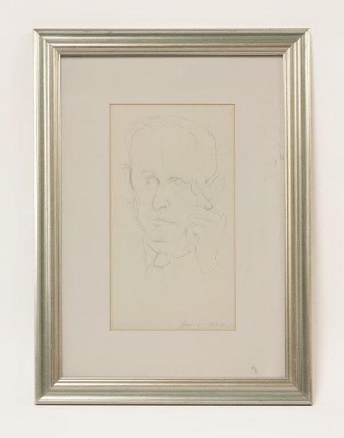 , 'Study of Graham Sutherland,' 1967, Christopher Kingzett Fine Art