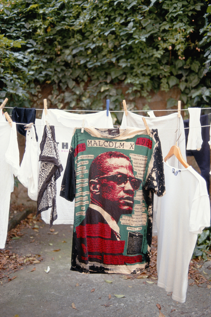 , 'Malcolm X T-shirt, Rome, 1992,' 2015, Albert Merola Gallery