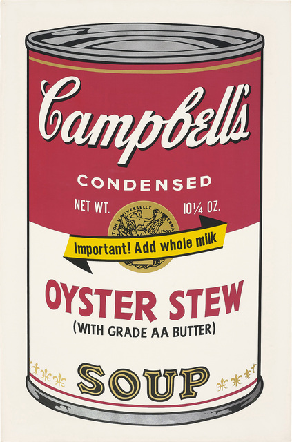 Andy Warhol, 'Oyster Stew, from Campbell's Soup II', 1969, Phillips