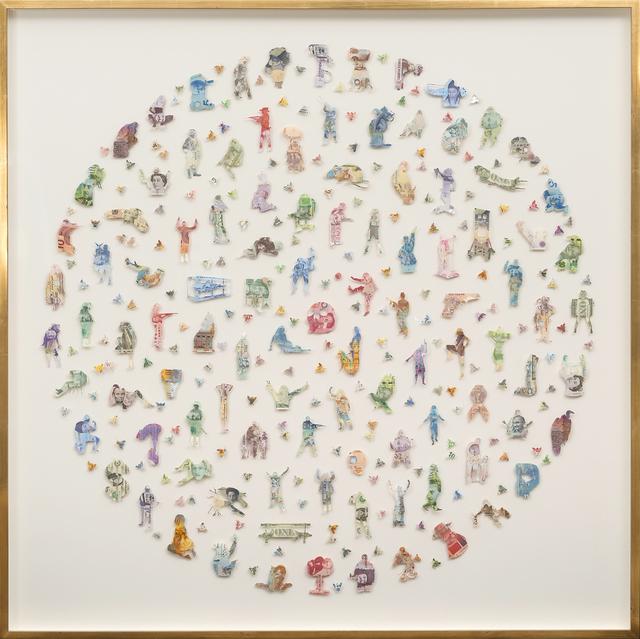, 'Money Makes the World Go Round,' 2016, Ani Molnár Gallery