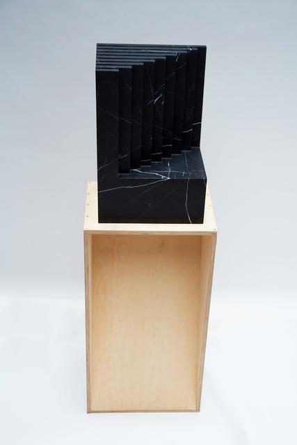 , 'Litófono (Incrementos) [Litophone (Increments)],' 2017, Galeria Luisa Strina