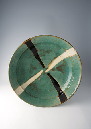 , 'Obachi, green glaze with trailed decoration,' , Pucker Gallery