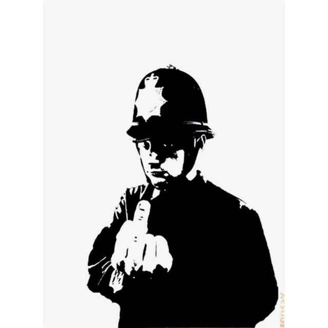 Banksy, 'Rude Copper Unsigned Edition ', 2002, The Drang Gallery