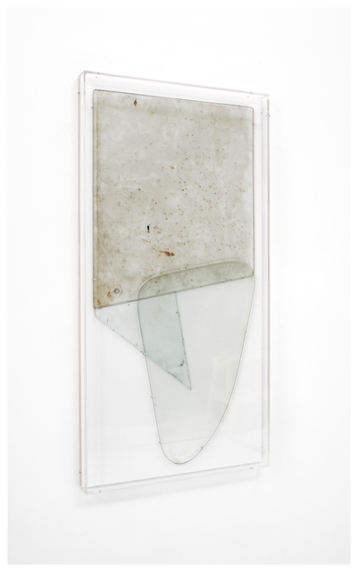 Anneke Eussen, 'Now (03)', 2021, Sculpture, Recycled antique glass mounted on wood in plexibox frame, Tatjana Pieters