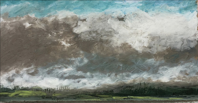 , 'Spring Storm Clouds ,' 2017, InLiquid