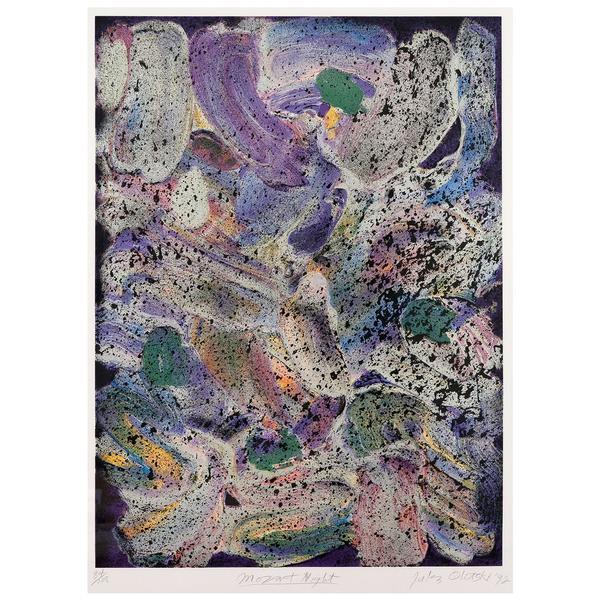 Jules Olitski, 'Mozart Night', 1992, Caviar20