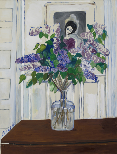 , 'Lilacs,' 1983, Aurel Scheibler