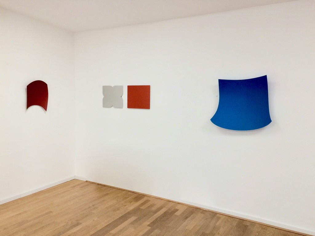 Works of Heiner Thiel and Cecilia Vissers