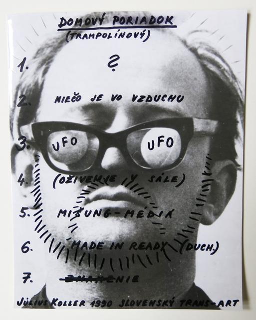 , 'Slovenský Trans-Art,' 1990, Galerie Martin Janda