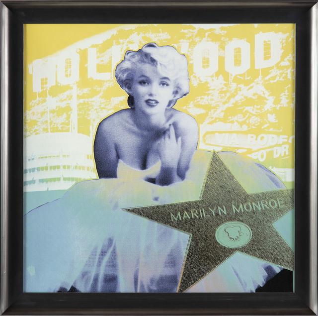 Steve Kaufman, 'Marilyn Monroe SAK Hollywood Star Large Limited Painting Warhol', 1995, Modern Artifact