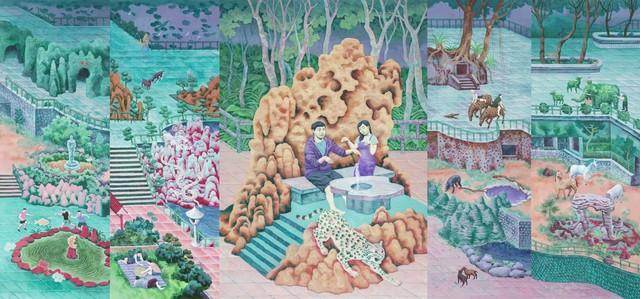 , 'Realizing this was your childhood playground,' 2016, Yiri Arts