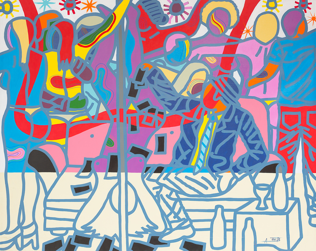 , 'Simo Enjoy Ya Life Ya,' 2017, Jack Bell Gallery