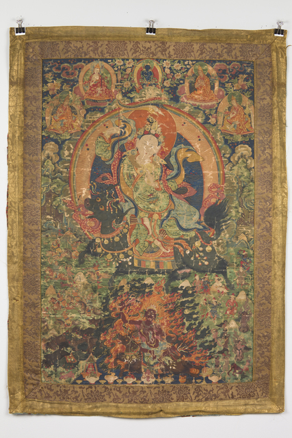 , 'Protective goddess in peaceful and wrathful form,' Between 1790-1805 , Rubin Museum of Art