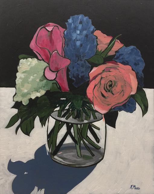 Kevin Morris, 'Flowers on Black', 2017, Cerbera Gallery